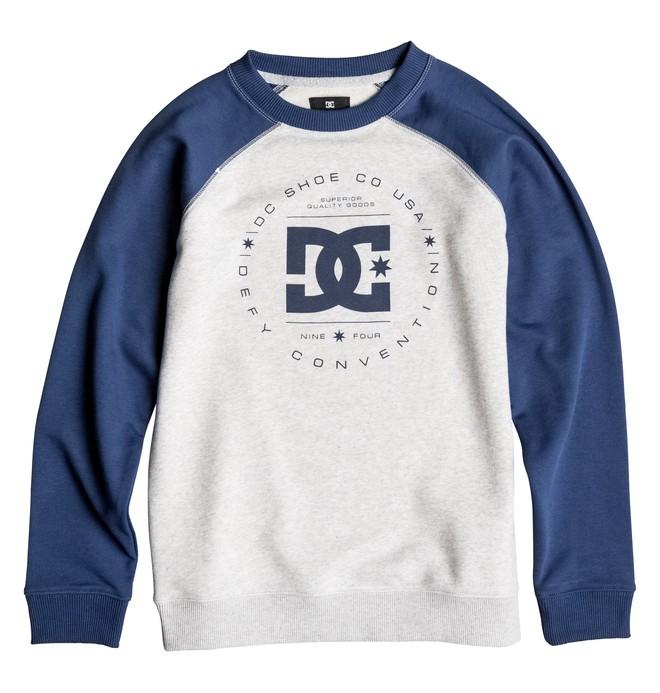 0 Rebuilt - Sweatshirt for Boys 8-16  EDBSF03057 DC Shoes