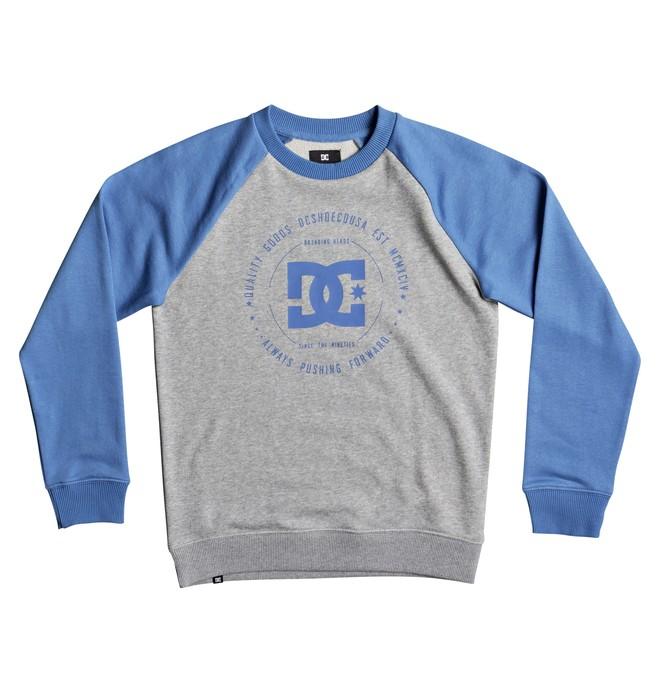 0 Rebuilt - Sweatshirt for Boys 8-16 Blue EDBSF03057 DC Shoes