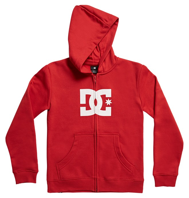 0 Boy's 8-16 Star Zip-Up Hoodie  EDBSF03088 DC Shoes