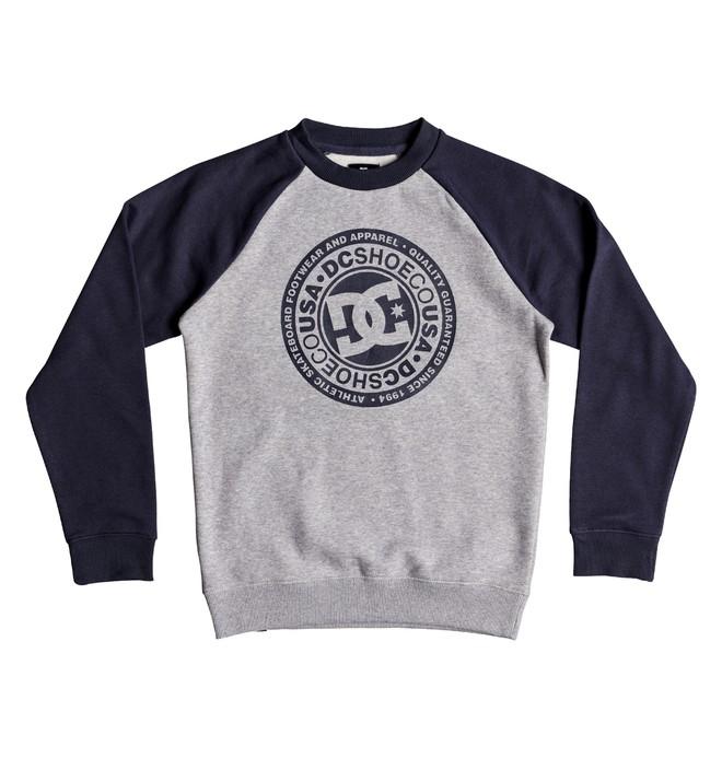 0 Boy's 8-16 Circle Star Sweatshirt Blue EDBSF03092 DC Shoes