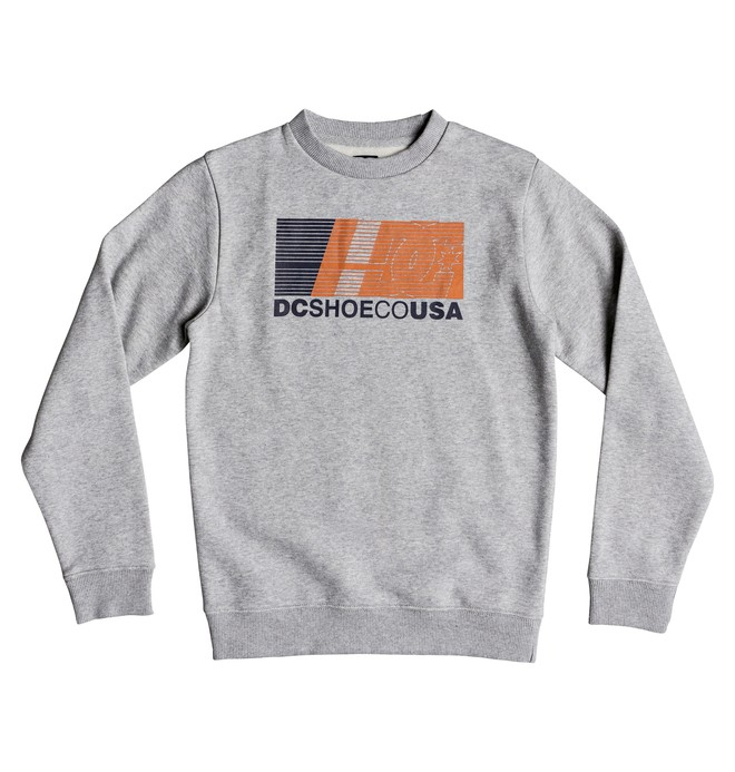 0 High Value - Sweatshirt pour Garçon 8-16 ans Noir EDBSF03093 DC Shoes