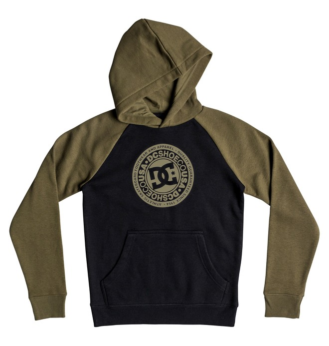 0 Circle Star - Hoodie for Boys 8-16 Green EDBSF03094 DC Shoes