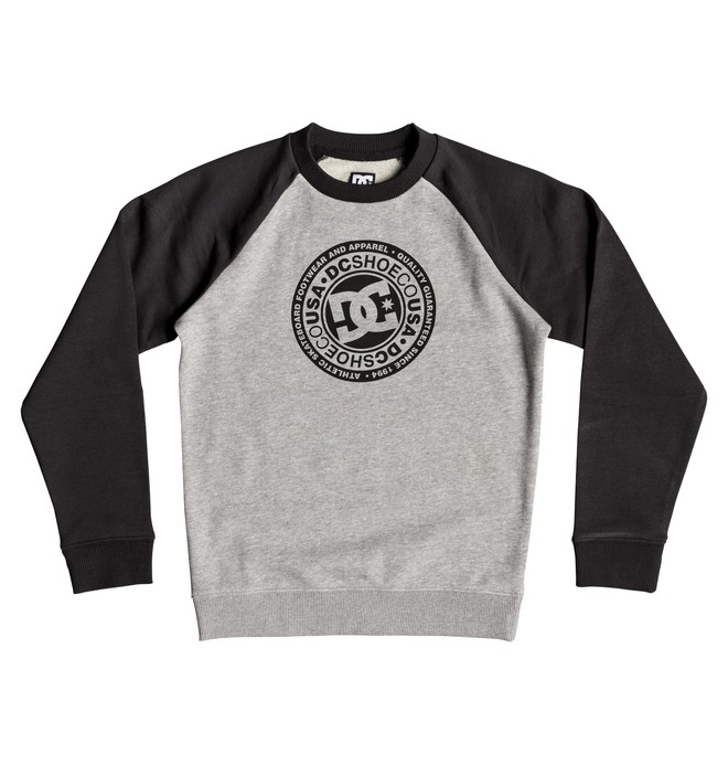 0 Circle Star - Sudadera para Chicos 8-16 Negro EDBSF03096 DC Shoes