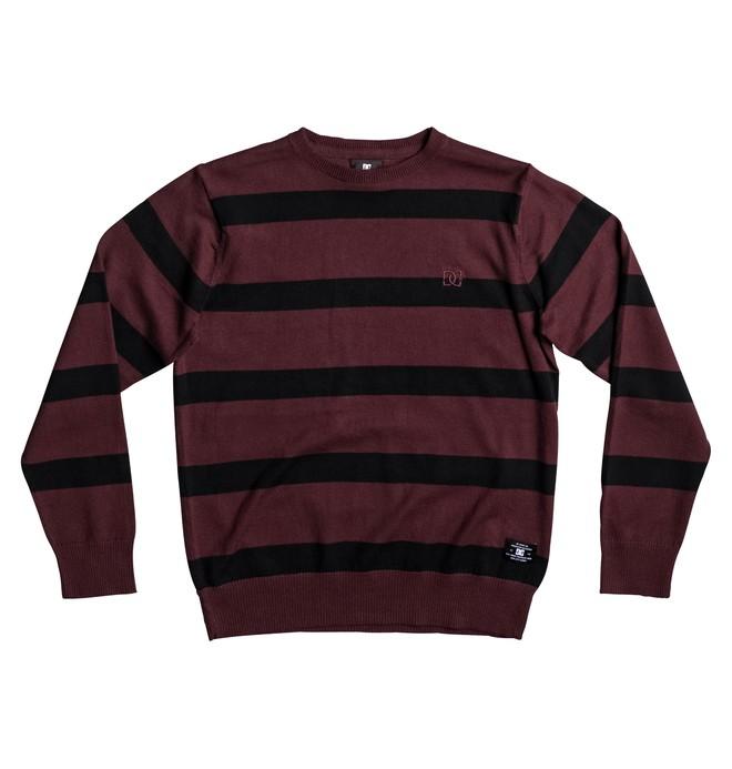 0 Sabotage Stripe - Sweatshirt für Jungen 8-16 Rot EDBSW03012 DC Shoes