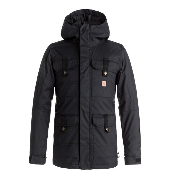 0 Servo - Snow Jacket for Boys 8-16 Black EDBTJ03017 DC Shoes