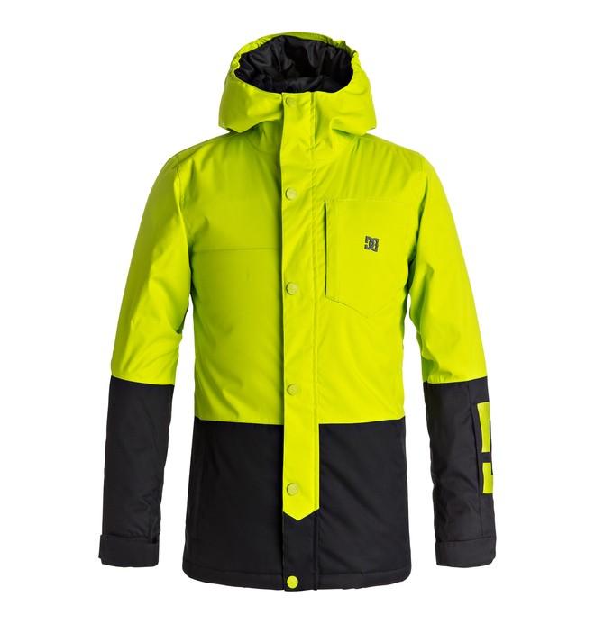 0 Defy - Snow Jacket for Boys 8-16 Green EDBTJ03018 DC Shoes