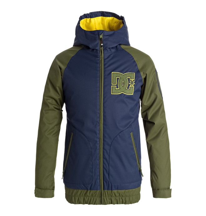 0 Troop - Snow Jacket for Boys 8-16 Blue EDBTJ03019 DC Shoes