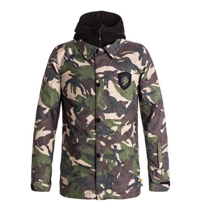 0 Cash Only - Snow Jacket for Boys 8-16 Green EDBTJ03021 DC Shoes