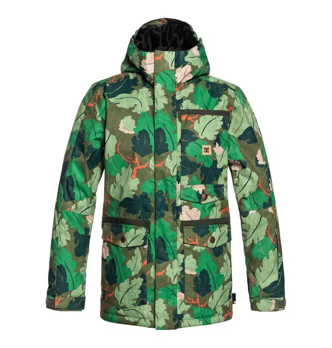 0 Servo - Parka Snow Jacket for Boys 8-16 Green EDBTJ03026 DC Shoes