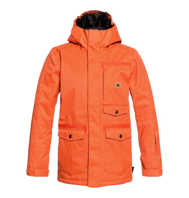 0 Servo - Parka Snow Jacket for Boys 8-16 Orange EDBTJ03026 DC Shoes