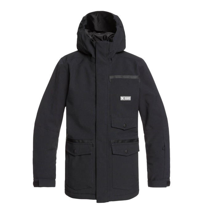 0 Servo Snow Jacket Black EDBTJ03027 DC Shoes