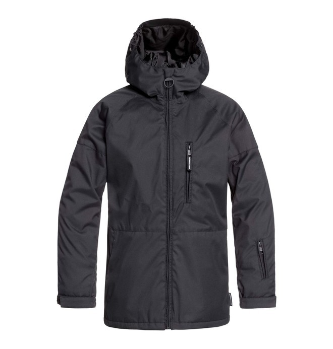 0 Retrospect - Snow Jacket Black EDBTJ03028 DC Shoes