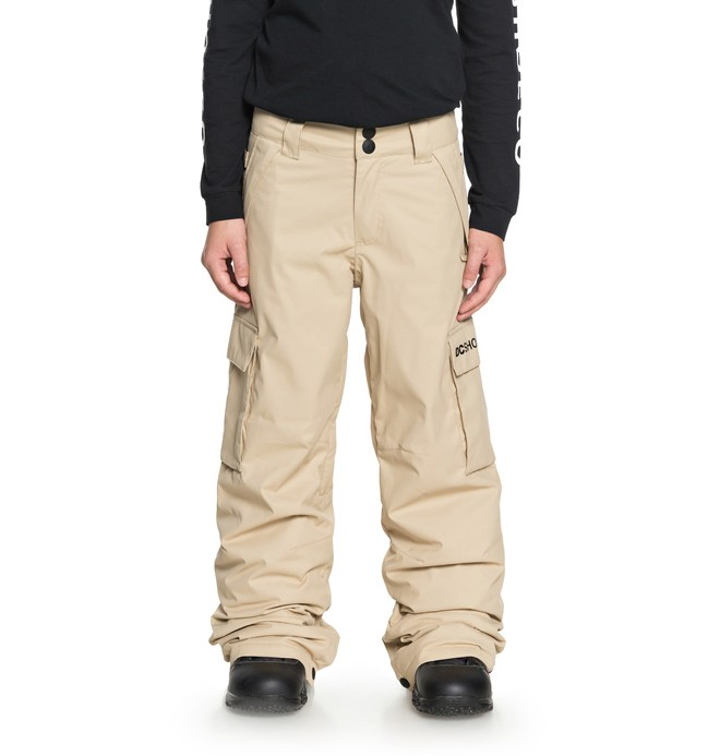 0 Boy's 8-16 Banshee Snow Pants Brown EDBTP03009 DC Shoes