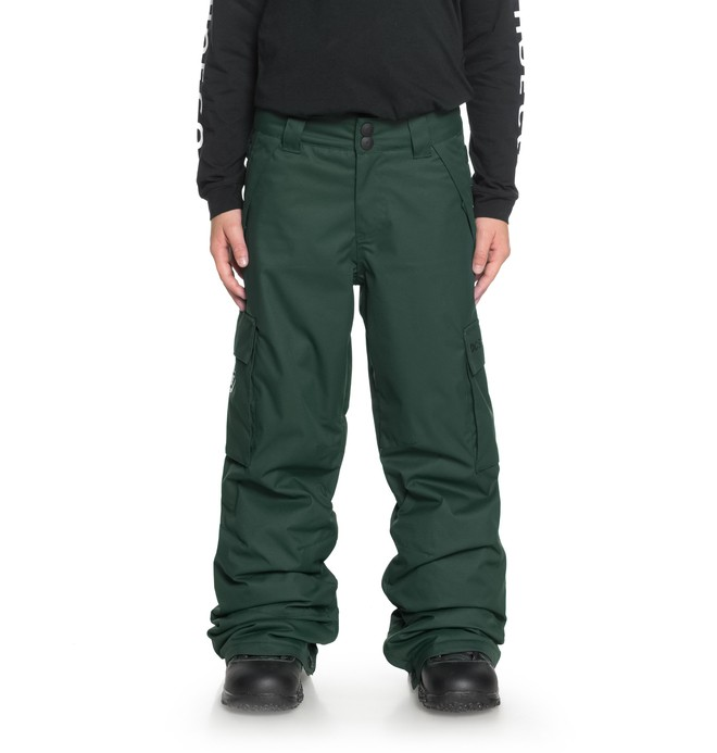 0 Boy's 8-16 Banshee Snow Pants Green EDBTP03009 DC Shoes