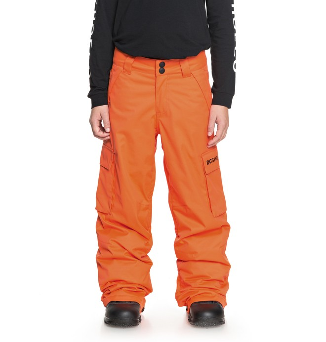 0 Boy's 8-16 Banshee Snow Pants Orange EDBTP03009 DC Shoes