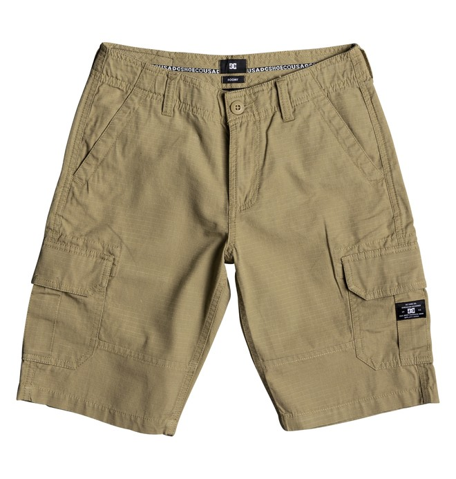 "0 Ripstop 18.5"" - Short Cargo para Chicos 8-16 Marron EDBWS03018 DC Shoes"