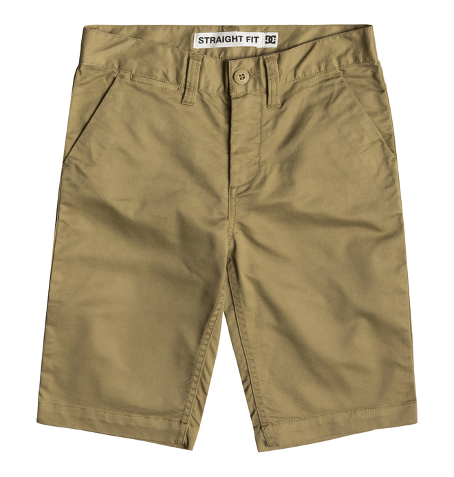 "0 Worker 18.5"" - Short Chino para Chicos 8-16 Marron EDBWS03052 DC Shoes"