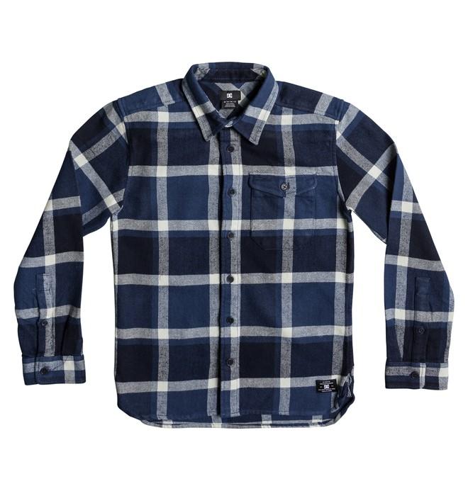 0 Marsha - Long Sleeve Shirt for Boys 8-16 Blue EDBWT03032 DC Shoes