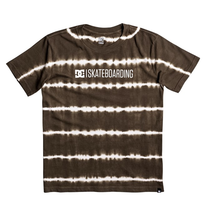 "0 Kid's Minimal 17"" Tee Brown EDBZT03235 DC Shoes"