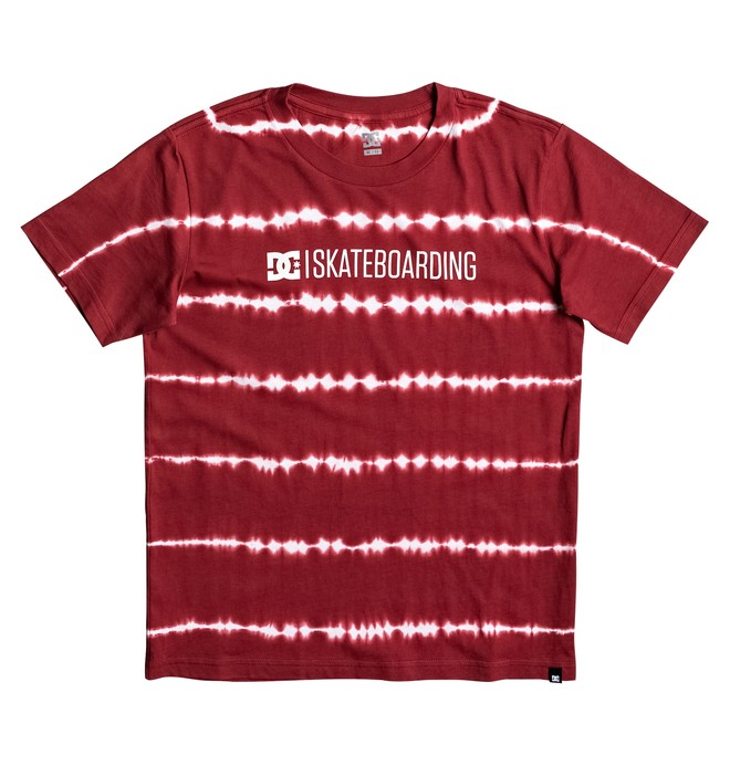 "0 Kid's Minimal 17"" Tee Red EDBZT03235 DC Shoes"
