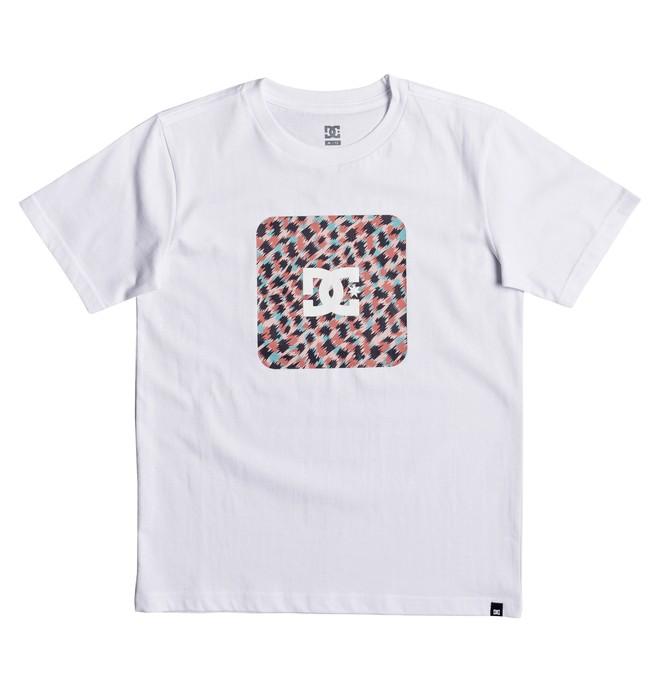 0 Shuffle Face - T-Shirt White EDBZT03257 DC Shoes
