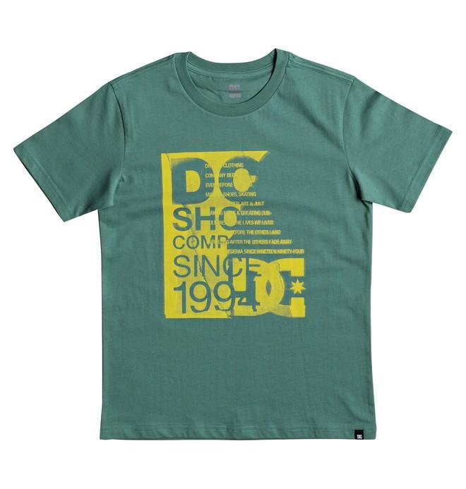 0 Disturbed Board - T-Shirt Green EDBZT03259 DC Shoes