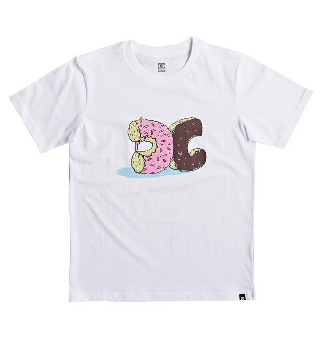 0 Donut Crush - T-Shirt White EDBZT03262 DC Shoes
