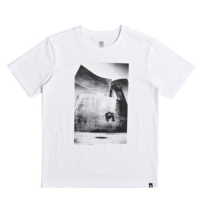 0 Tiago Switch Flip - T-Shirt White EDBZT03269 DC Shoes