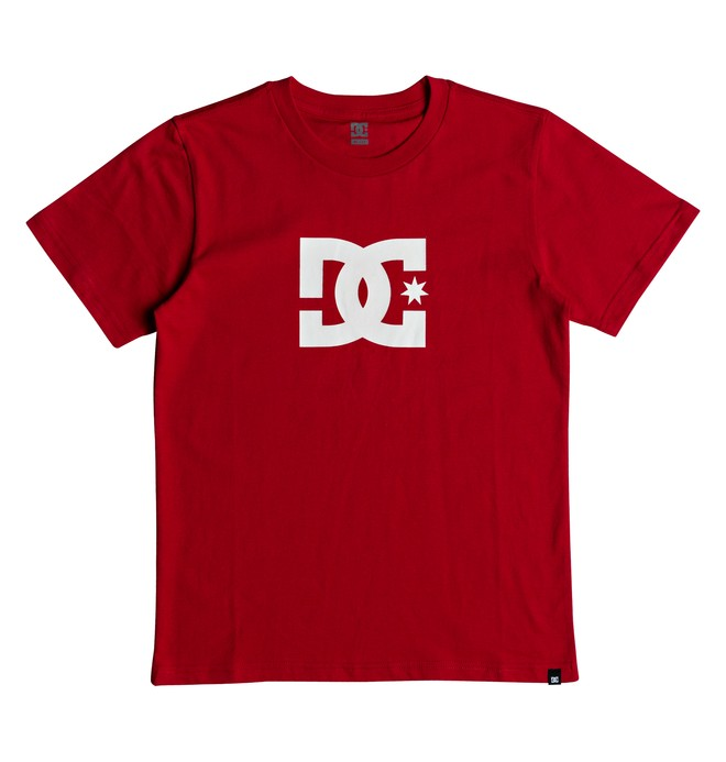 0 Boy's 8-16 Star Tee Red EDBZT03279 DC Shoes