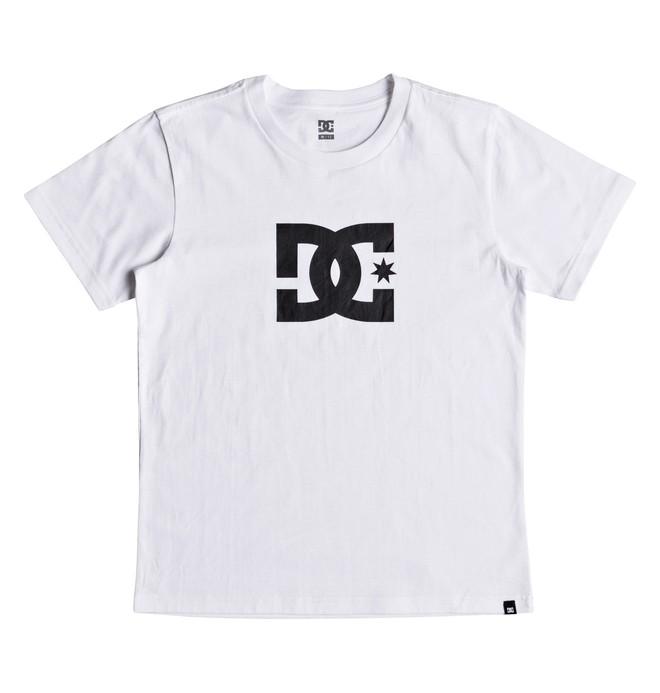 0 Star - T-shirt col rond pour Garçon 8-16 ans Blanc EDBZT03279 DC Shoes