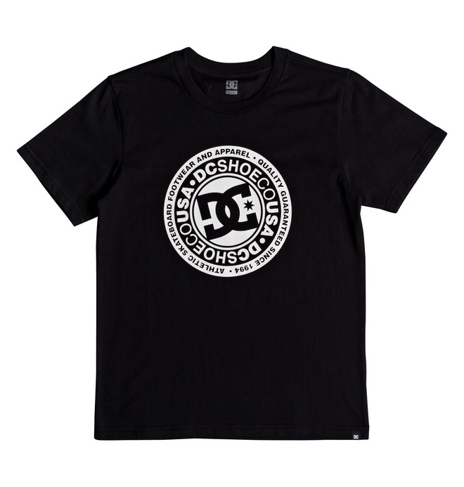 0 Circle Star - T-Shirt for Boys 8-16 Black EDBZT03280 DC Shoes