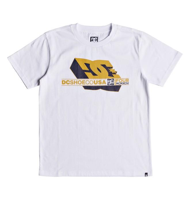 0 Ruler - T-shirt col rond pour Garçon 8-16 ans Blanc EDBZT03289 DC Shoes