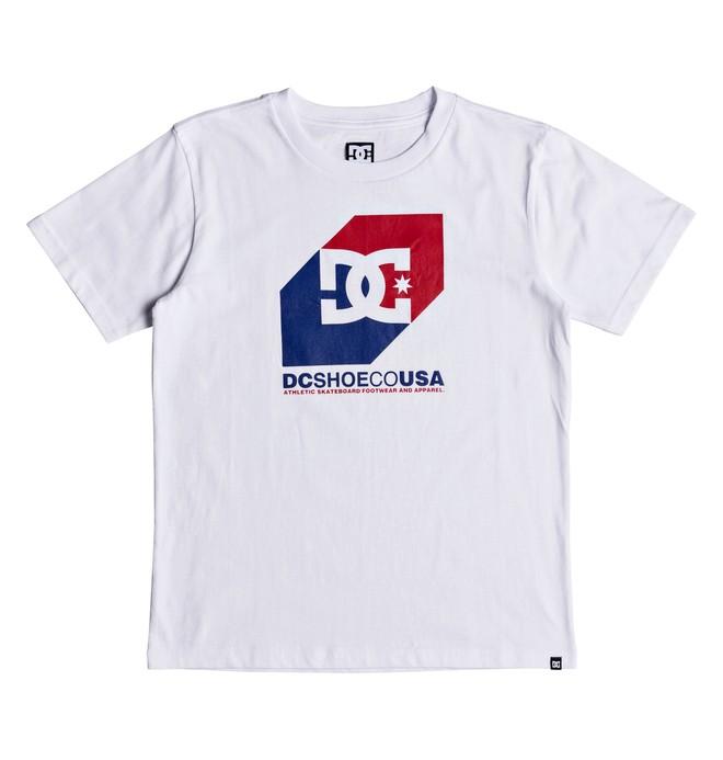 0 Nosed Up - T-shirt col rond pour Garçon 8-16 ans Blanc EDBZT03291 DC Shoes