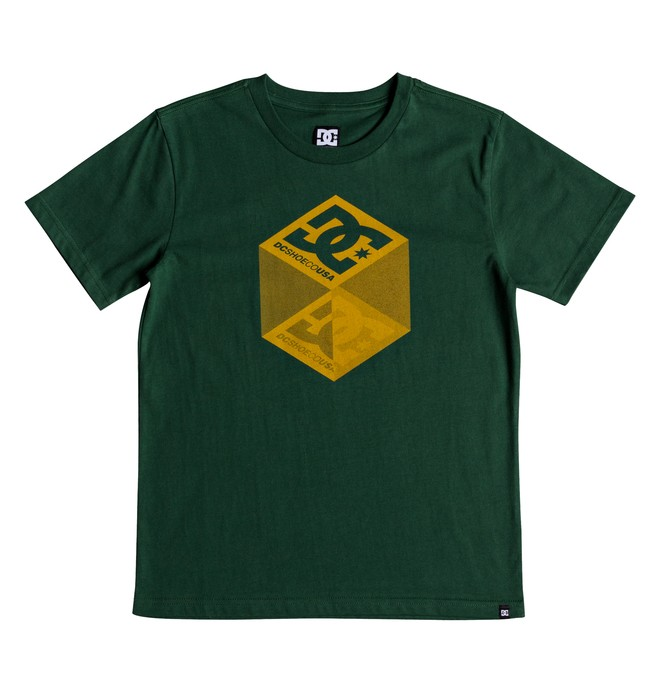 0 Volume - T-shirt col rond pour Garçon 8-16 ans Vert EDBZT03293 DC Shoes