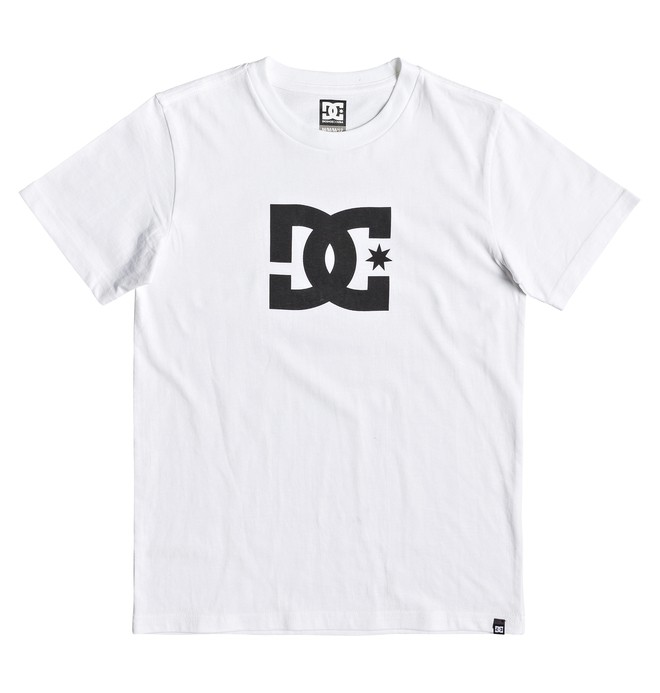 0 Star Tee White EDBZT03313 DC Shoes