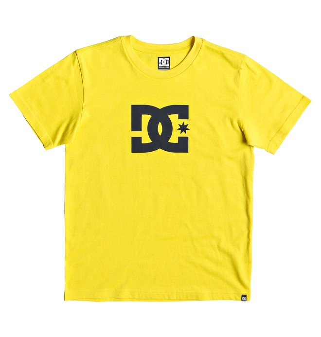 0 Star - Camiseta para Chicos 8-16 Amarillo EDBZT03313 DC Shoes