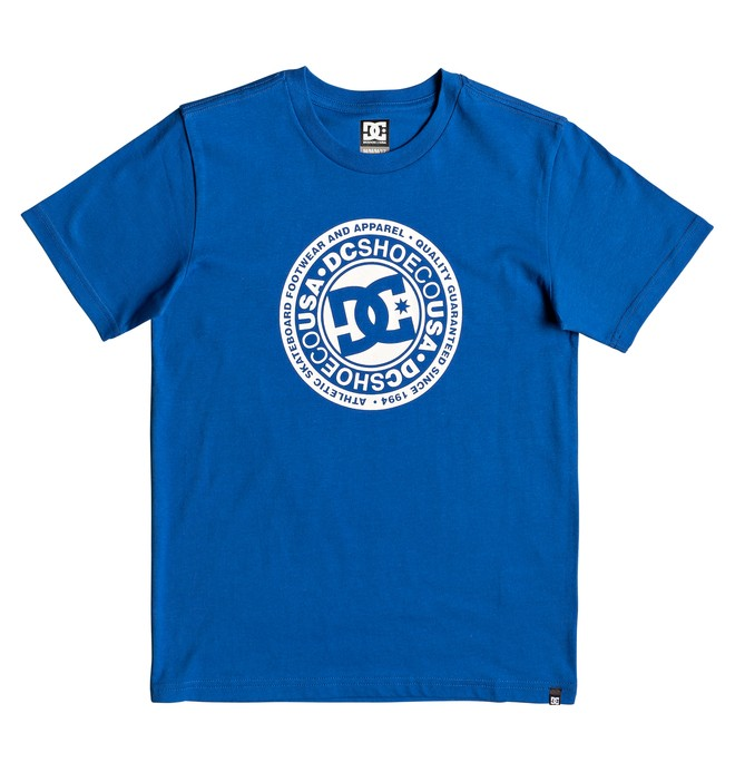 0 Boy's 8-16 Circle Star Tee Blue EDBZT03314 DC Shoes