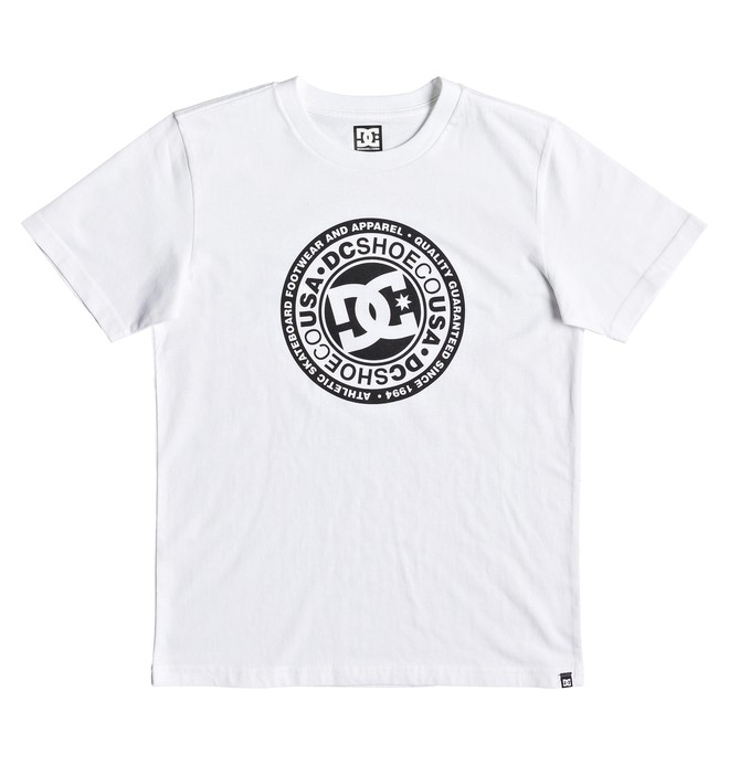 0 Circle Star - Camiseta para Chicos 8-16 Blanco EDBZT03314 DC Shoes