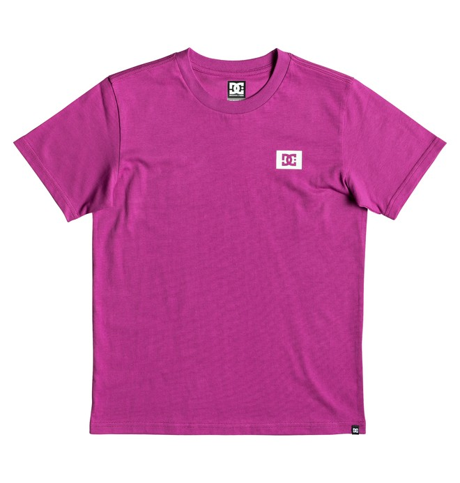 0 Camiseta Stage Box Rosa EDBZT03317 DC Shoes