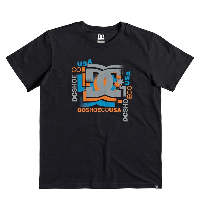 0 Scatter - T-Shirt for Boys 8-16 Black EDBZT03319 DC Shoes