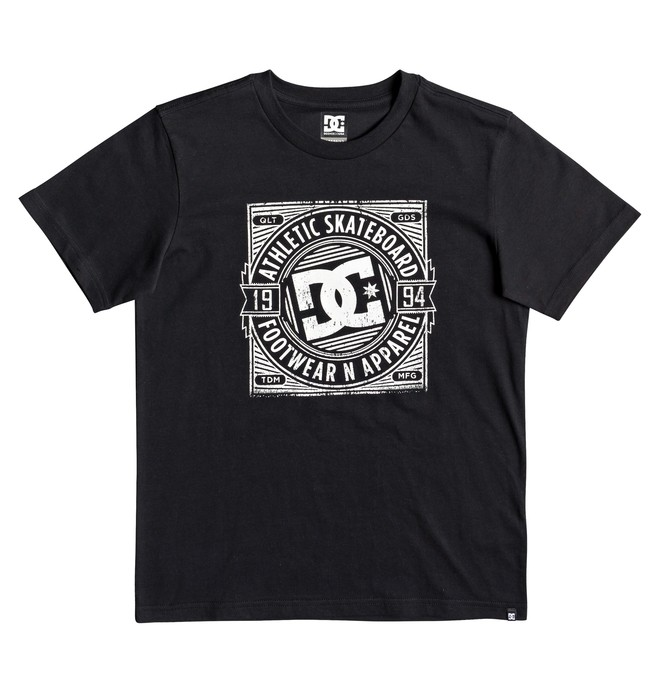 0 Spot Rusher - Camiseta para Chicos 8-16 Negro EDBZT03325 DC Shoes