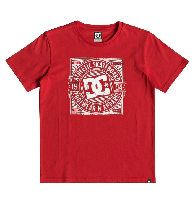 0 Spot Rusher - Camiseta para Chicos 8-16 Rojo EDBZT03325 DC Shoes