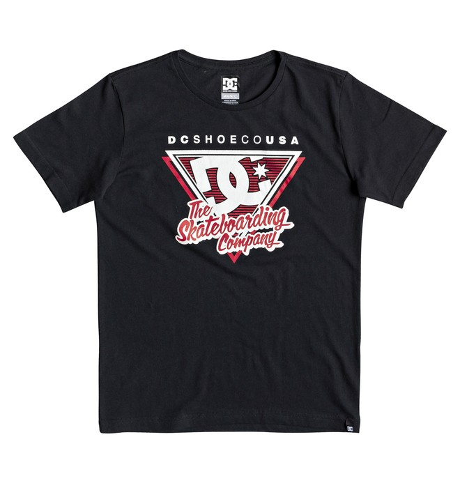 0 Deck 94 - Camiseta para Chicos 8-16 Negro EDBZT03326 DC Shoes
