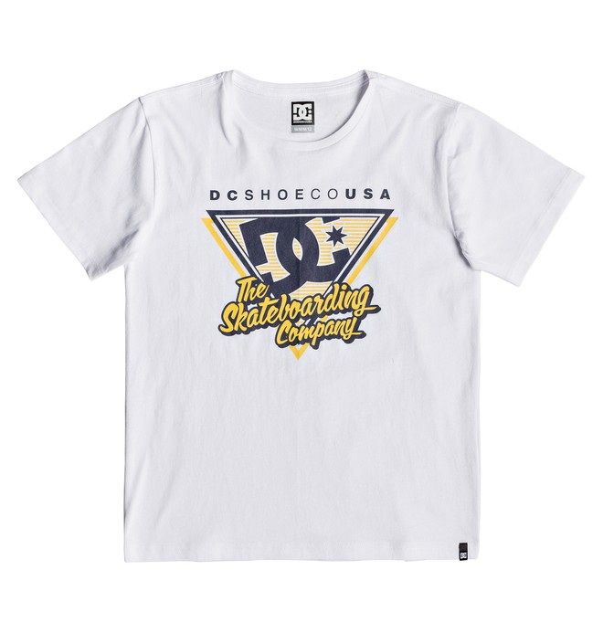 0 Deck 94 - Camiseta para Chicos 8-16 Blanco EDBZT03326 DC Shoes