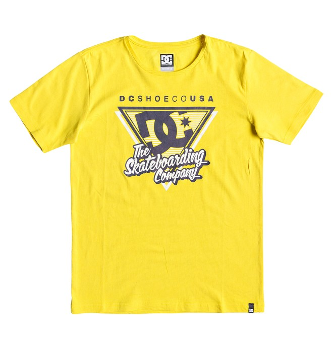 0 Deck 94 - Camiseta para Chicos 8-16 Amarillo EDBZT03326 DC Shoes