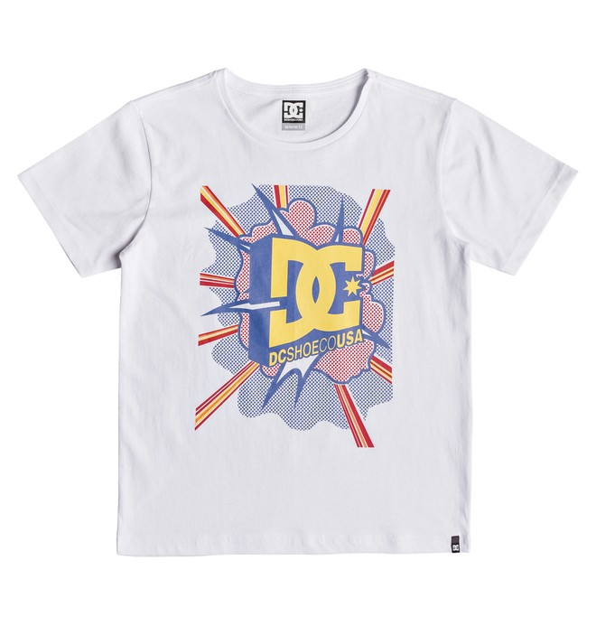 0 Blaster - Camiseta para Chicos 8-16 Blanco EDBZT03328 DC Shoes