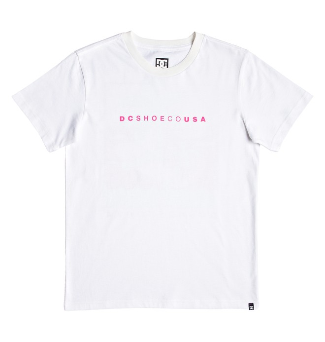 0 Deckland - Camiseta para Chicos 8-16 Blanco EDBZT03337 DC Shoes