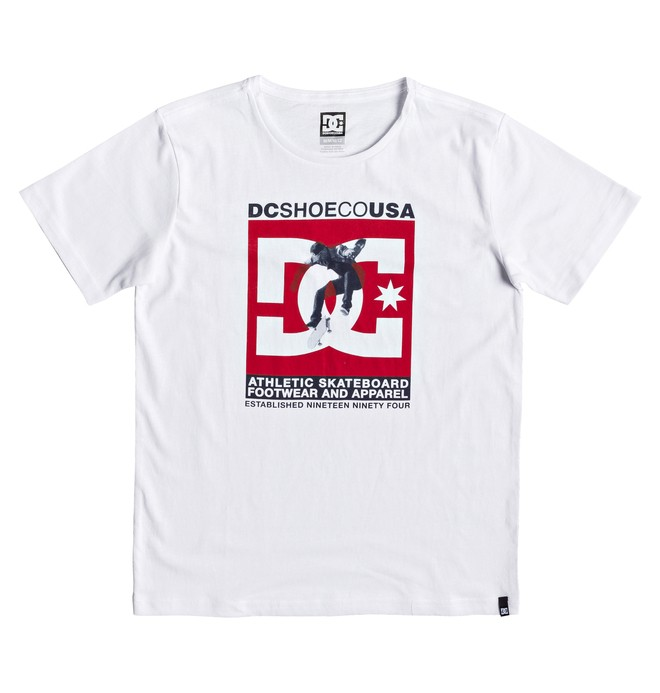 0 Visual - Camiseta para Chicos 8-16 Blanco EDBZT03339 DC Shoes