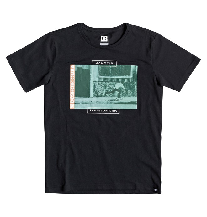 0 Tommy Push - Camiseta para Chicos 8-16 Negro EDBZT03340 DC Shoes