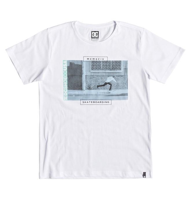 0 Tommy Push - Camiseta para Chicos 8-16 Blanco EDBZT03340 DC Shoes